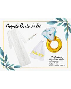 Paquete bride to be
